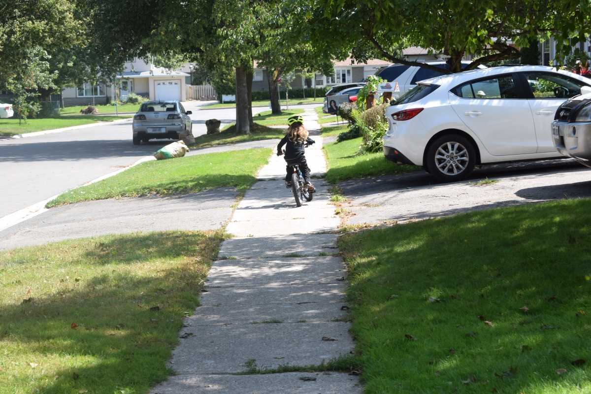 Lessons in Learning to Ride aBike